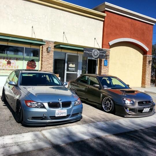 E90 and WRX