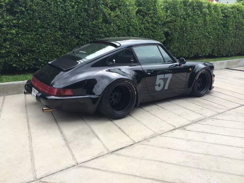 Rwb Porsche Ducktail This Rwb Porsche From Thailand